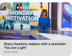 WTVR Channel 6 Guest Appearance by Stacy Hawkins Adams